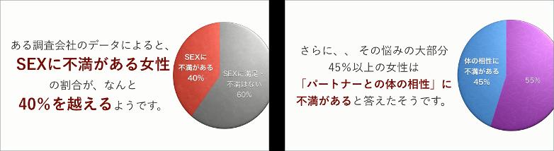 女性が本当に求めるSEX データ